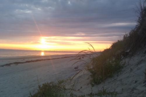 Sunrise in Norfolk, VA taken by Lauren Hale with HTC Hero
