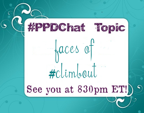 #PPDChat Topic 06.16.14: Faces of #ClimbOut