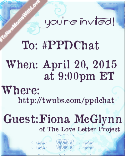 PPDChat Love Letter Project Guest Announcement II