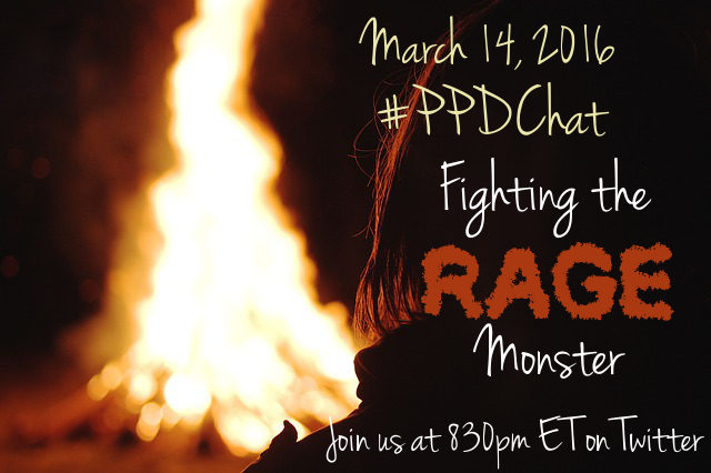 Fighting the Rage Monster, #PPDChat Topic 3-14-16. 830pm on Twitter