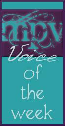 My Postpartum Voice of the Week badge